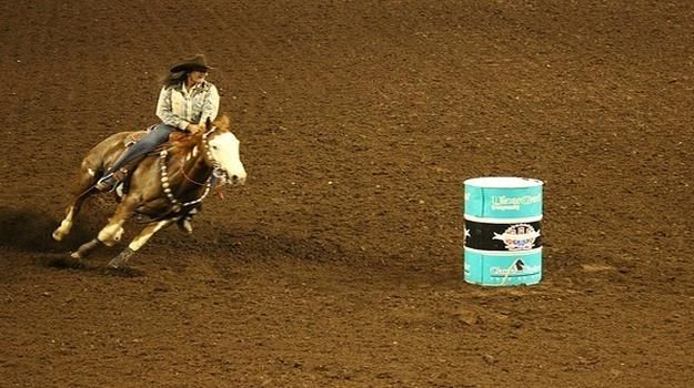 Barrel racing dates back to the early 1930's, when the sport began as a women's event. Barrel racing is a rodeo event where competitors on horse back attempt to record the best time in a race around three barrels set in a clover leaf design. The first...