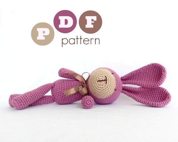 PDF amigurumi crochet pattern. Instant download. by ittooktwo