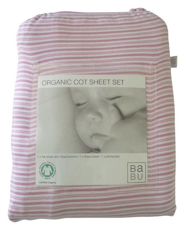 Babu - Organic Cot Sheet Set, A$129.49 (http://www.babu.co.nz/sheets/organic-cot-sheets/organic-cot-sheet-set/)