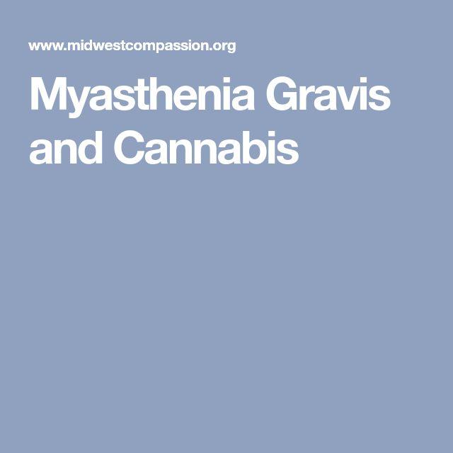 Myasthenia Gravis and Cannabis