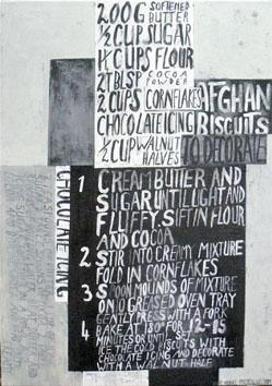 Lisa's Afghans Dick Frizzell Artist New Zealand Momentum