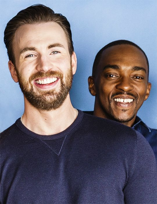 Chris Evans and Anthony Mackie                                                                                                                                                                                 More