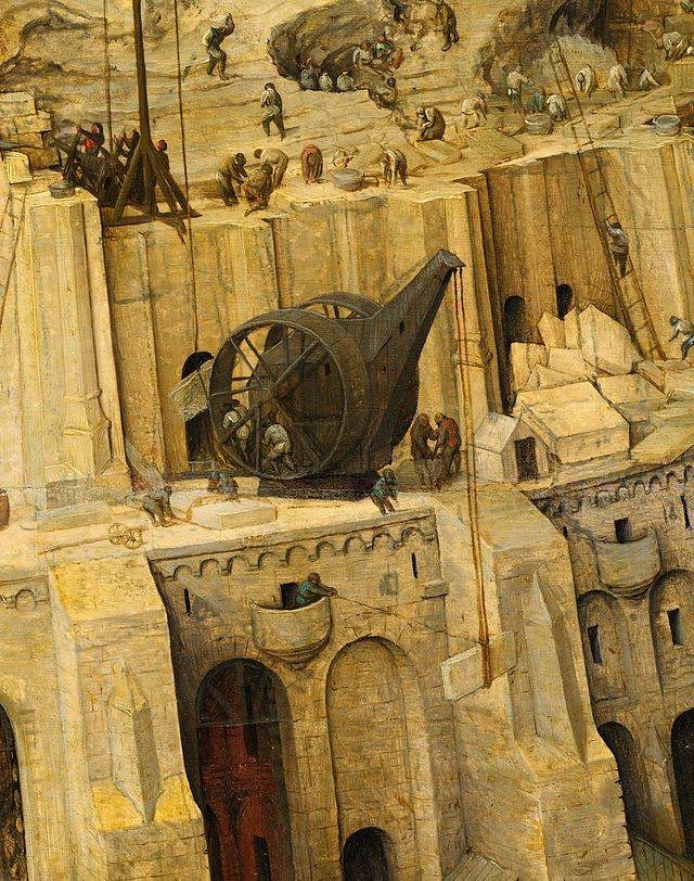"""Details of The Tower of Babel by Pieter Bruegel the Elder (Vienna)""  The following 46 files are in this category,"
