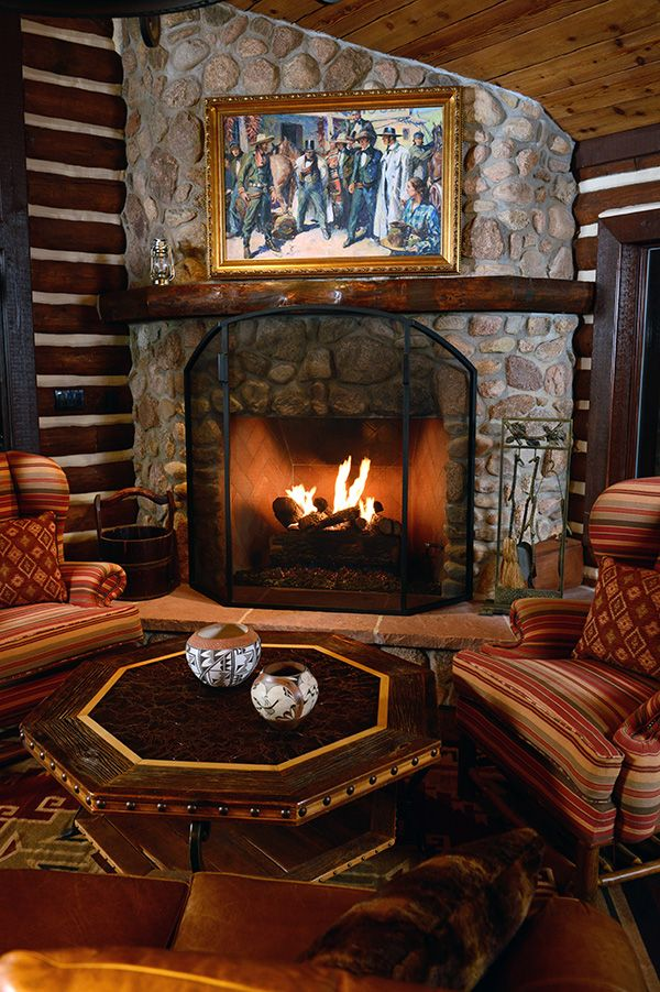 Relax By The Fire In A Rustic Cabin Surrounded By Pike National