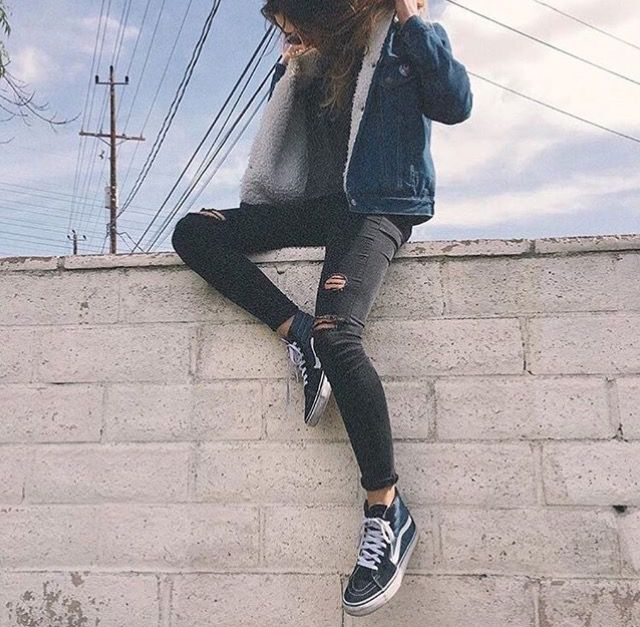 exceptional grey vans outfit ideas 11