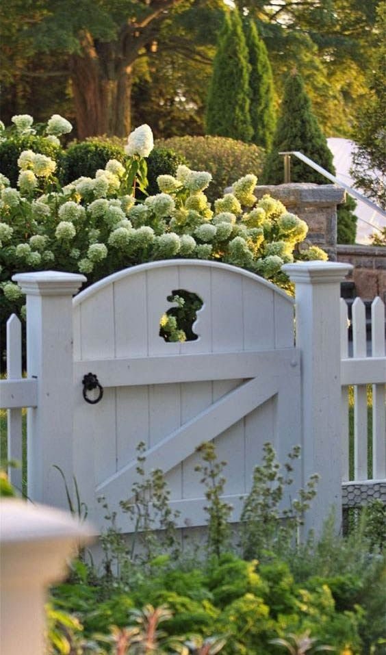 Cottage Gardan Landscaping Beautiful Fences Garden Gates Garden