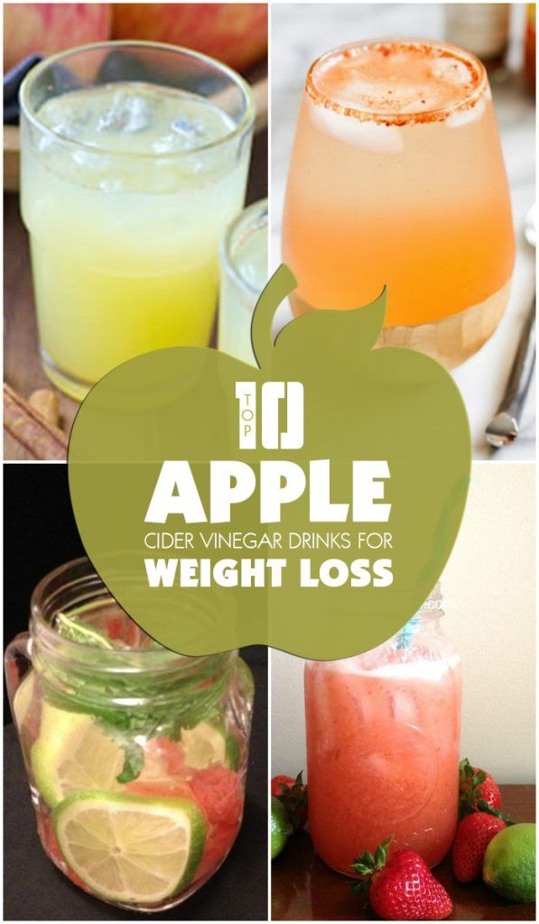 Apple Cider Vinegar Drinks for Weight Loss