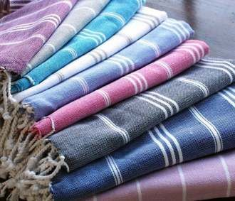 'Peshtemal' is a traditional Turkish towel, absorbs water as fast as towels, dries five times quicker and are extremely lightweight and easy to carry in your bag