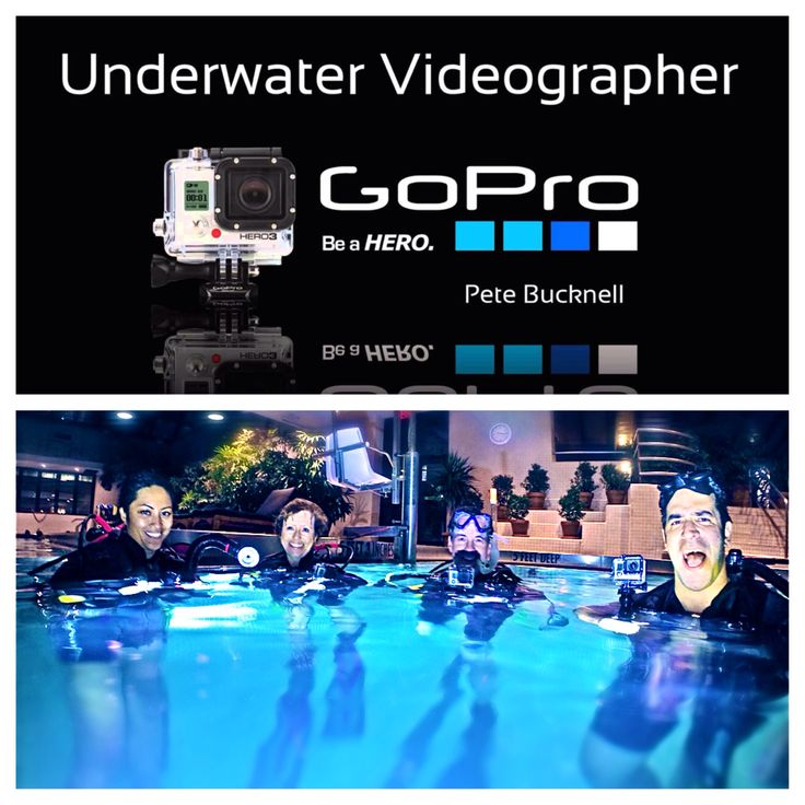 4 more graduates of the GoPro underwater videographer course!