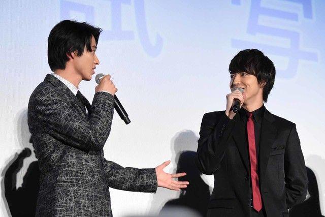 超特急のタカシこと松尾太陽が、本日1月12日に東京・丸の内ピカデリー1にて行われた映画「一週間フレンズ。」の完成披露舞台挨拶に登壇した。