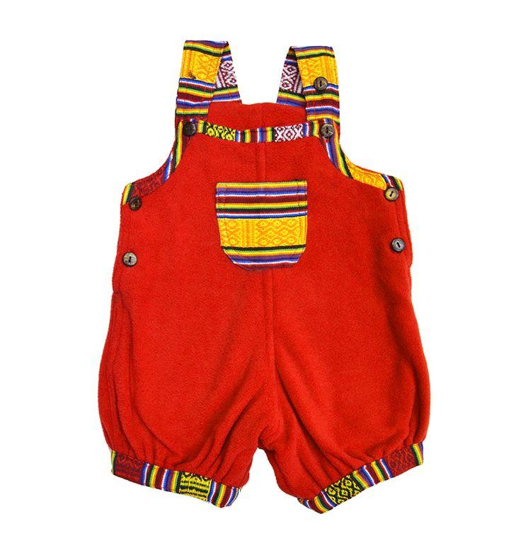 Peto bebe estilo étnico para bebes. Ropa Pachamama Kids. Moda exclusiva y colorida para niños. hippie clothes children
