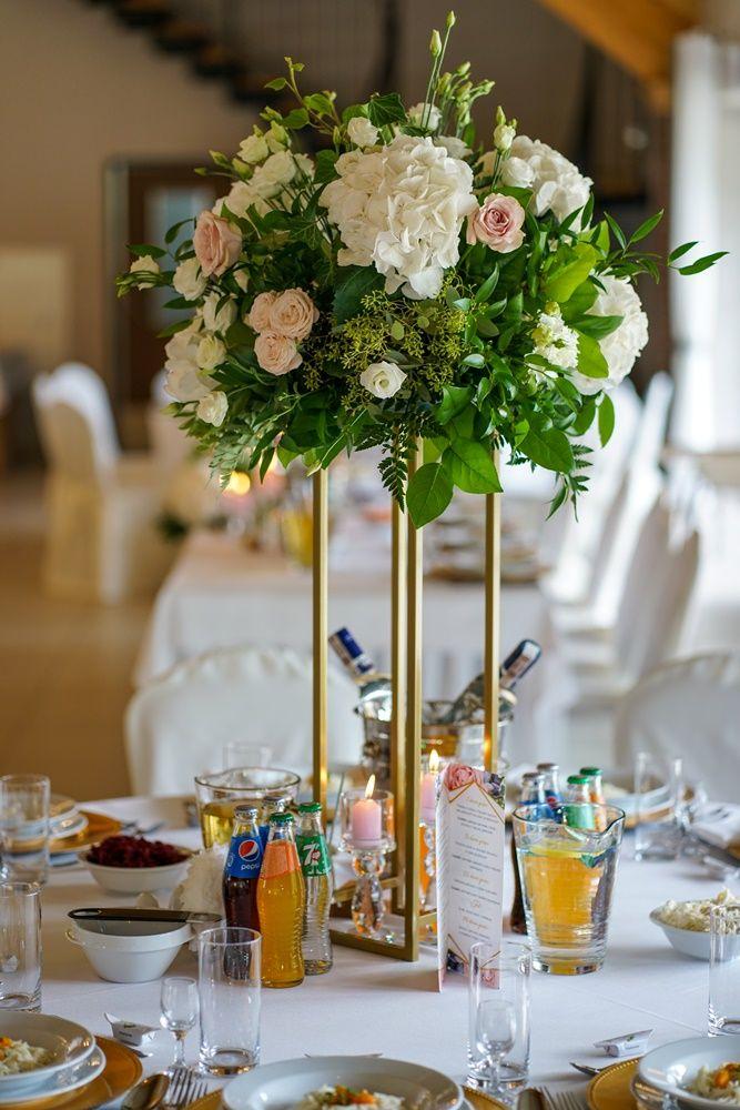 Bukiety Na Stoly Weselne Table Decorations Decor Home Decor