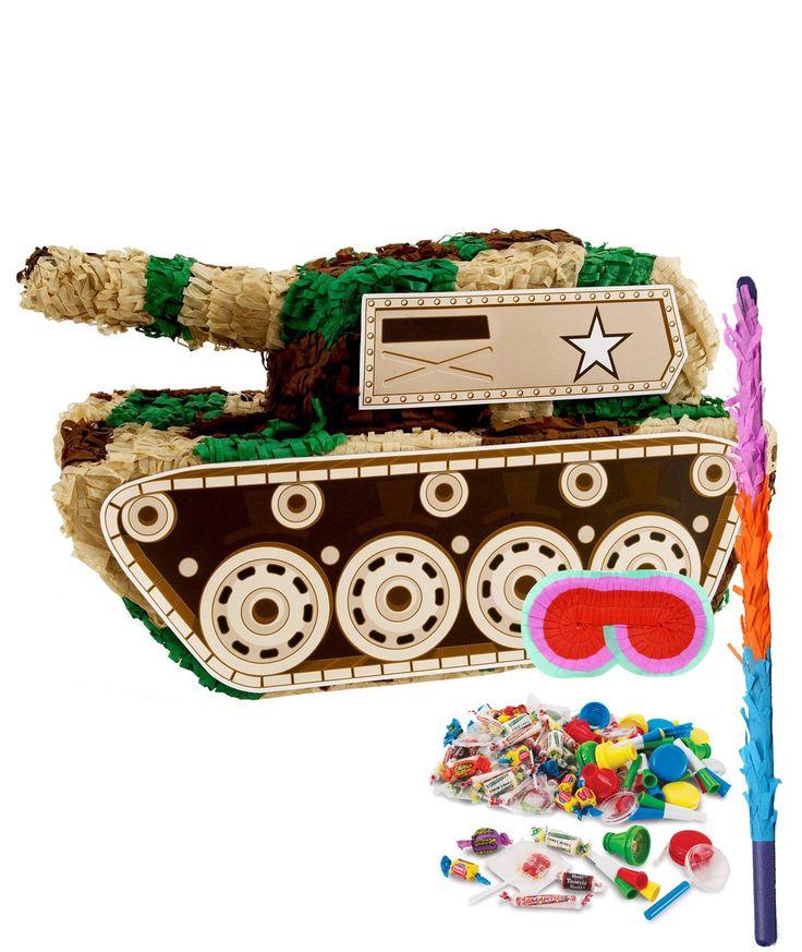 Camo Army Soldier Pinata Kit from BirthdayExpress.com