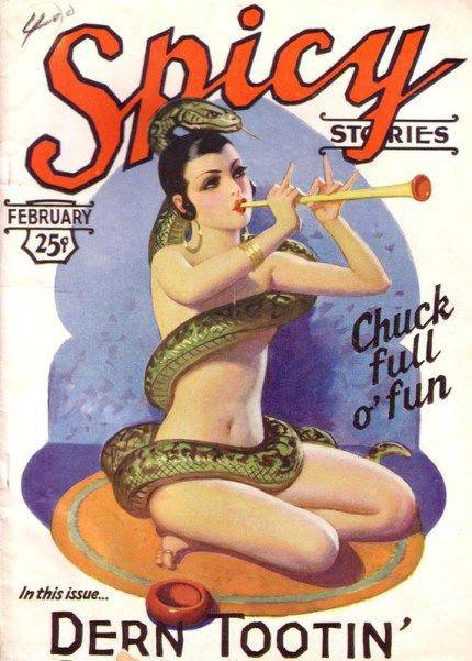 Spicy Mag #pulp #art                                                                                                                                                                                 More