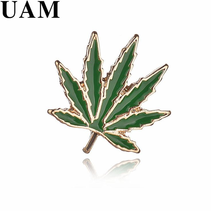 UAM Enamel Green Leaves Brooches For Women Girls Gold Color 2017 Korean Fashion Exquisite Pin Sweater Suit Accessories Pins