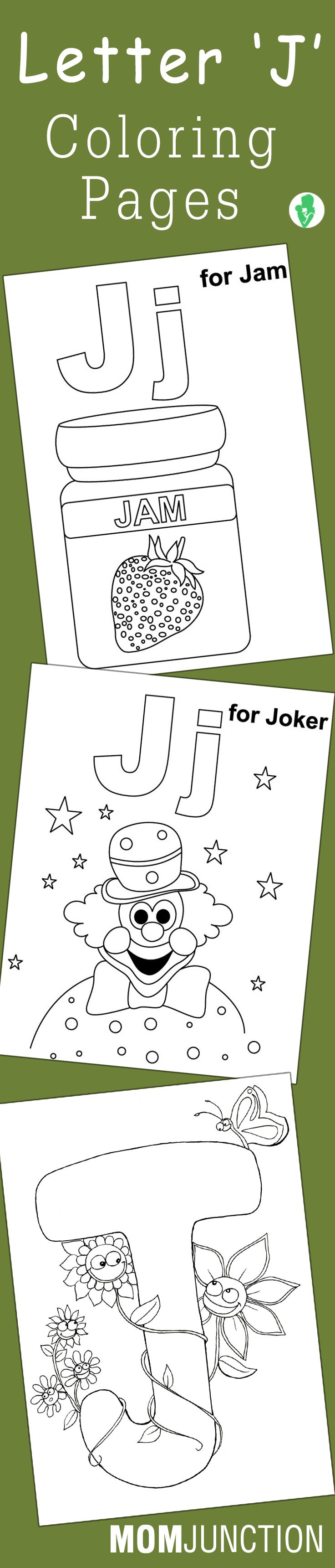 Top 10 Letter 'J' Coloring Pages Your Toddler Will Love To Learn & Color
