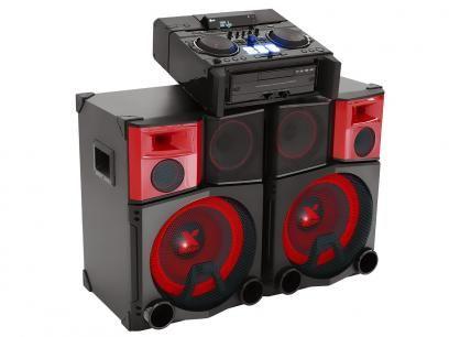Mini System LG 3900W RMS MP3 - Auxiliar Dual USB - X Boom Pro com as melhores condições você encontra no Magazine Ogaitsmart. Confira!