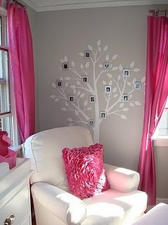 such a pretty baby girl room family tree