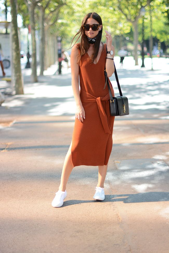 Ribbed dresses are the next big thing fall, take note!: Trendencias waysify