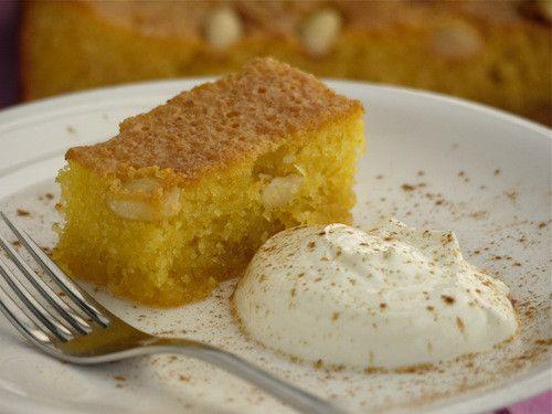Greek / Cypriot Semolina Cake #greekrecipe #toniabuxton #semolinacake #cyprus #greece https://plus.google.com/+PissouribayCyp/posts/3Ljhr7iUrxr