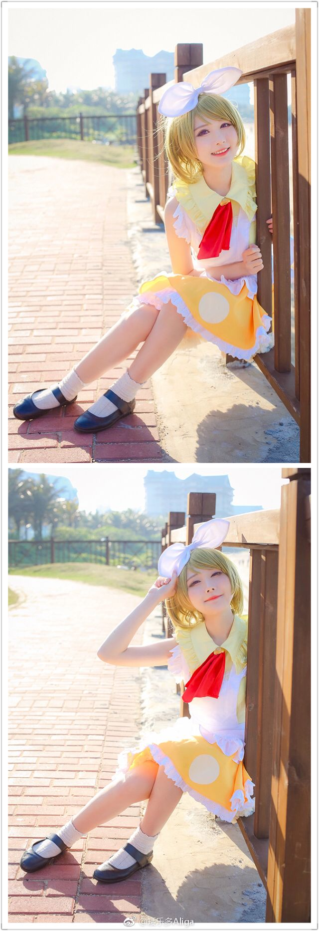 character :小泉花陽 koizumi hanayo   /   cosplayer :矮乐多Aliga