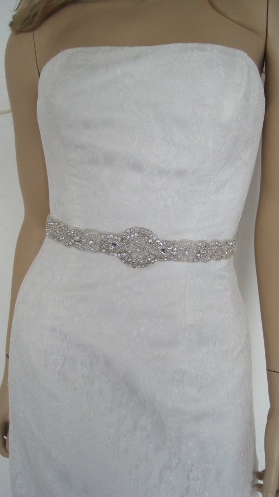 326 best images about gown sash and belts on pinterest for Wedding dress accessories belt