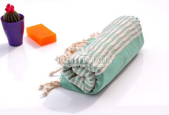 TURKISH BATH TOWEL  Cotton Peshtemal Turkish Beach by PESHTEMALIA, $16.95