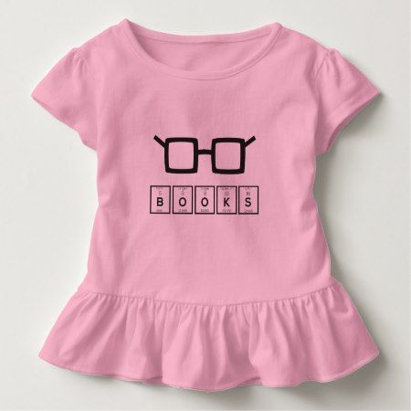 Books chemcial Element Nerd glasses Zh6zg Toddler T-shirt - tap to personalize and get yours