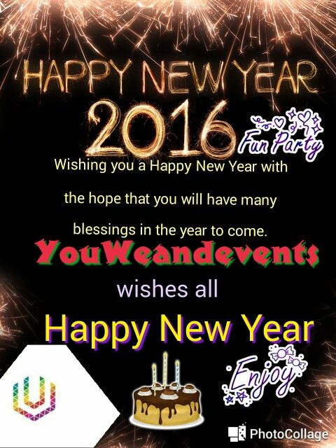 Happy new year to all from YouWeandevents