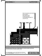 Pardoseala pe placa de beton armat - detaliu deasupra unui subsol neincalzit, zona de acces AUSTROTHERM