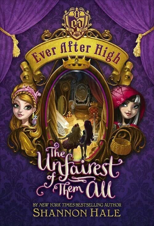"""all new!!! i have the first Ever After High book, and its called; """"Ever After High: the storybook of legends"""""""