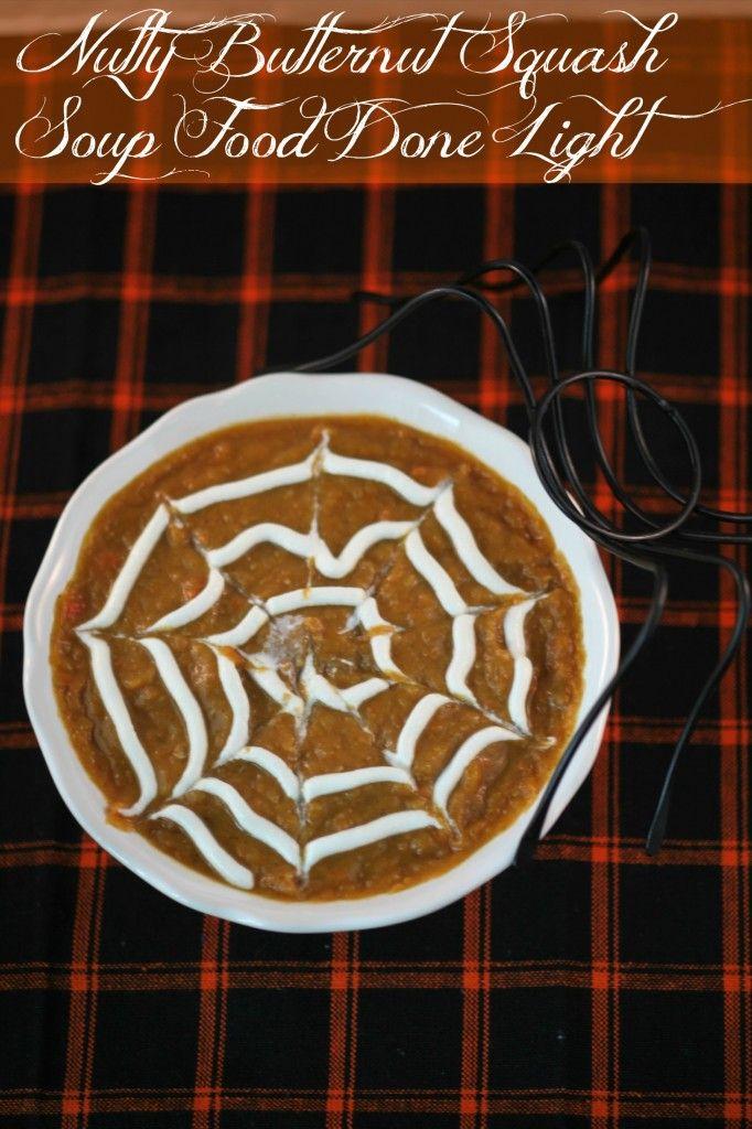 Nutty Butternut Squash SoupSouprecipes Halloweenrecipes, Butternut Squash Soup, Nutty Butternut, Soup Forecipesblogspotcom, Lights Souprecipes, Fall Recipe, Favorite Recipe, Butternut Squashes Soup, Food Recipe
