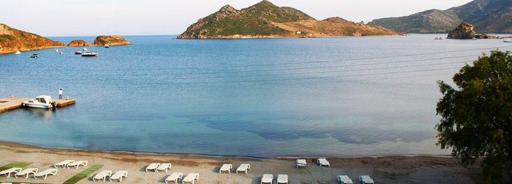 Grikos Beach, Patmos Island Greece