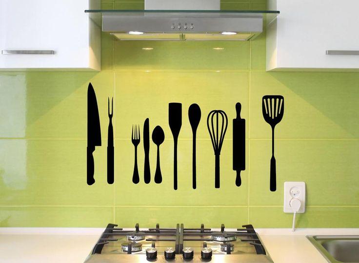 Oltre 25 fantastiche idee su disegni murali per cucina su - Disegni per cucina ...
