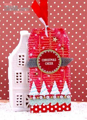 Tag by Sanna for the December TAGplorations Challenge - All About Christmas