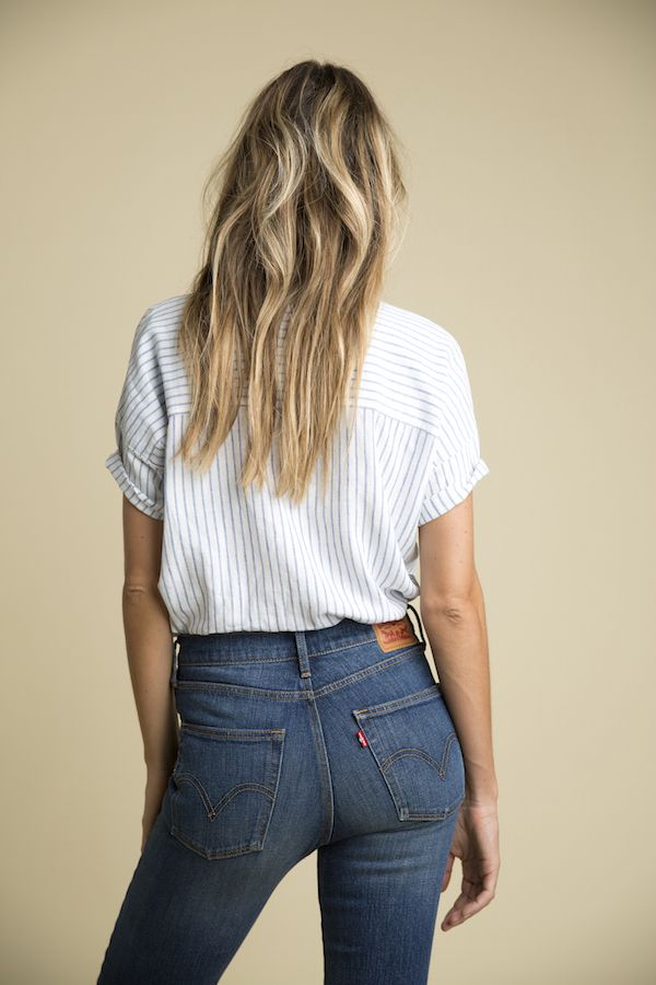 Levi's Wedgie Jeans - a fitting antidote to skinnies