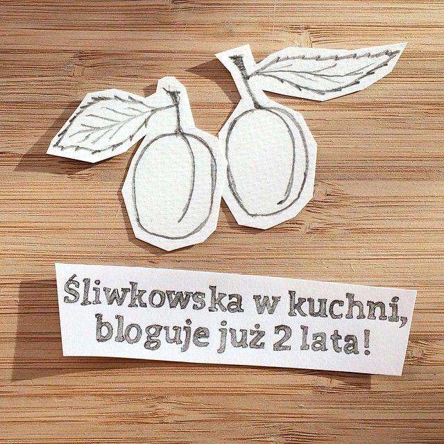 Na co dzień kumpela z pracy, codzienna sprzeczka to rzecz normalna. Poza pracą sprzeczka ma wymiar kumpelski totalnie, stąd też z przyjemnością, kwadrat z okazji 2. urodzin dla panny @sliwkowska :)...  http://sliwkowskawkuchni.wordpress.com