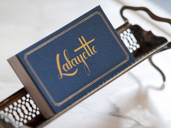 Lafayette by Oat, via Behance