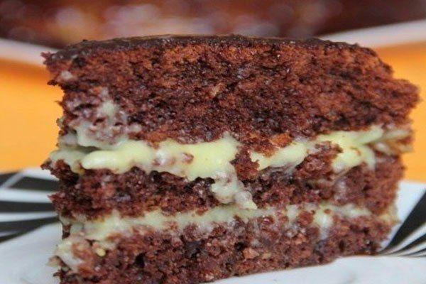 Crazy cake...jednoduchý zákusok ...