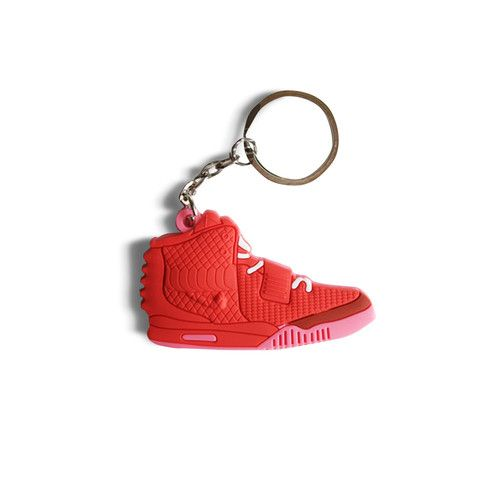 Air Yeezy 2 Red October  Keychain