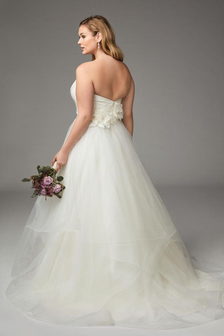 16 best Plus Size Wtoo Bridal Gowns images on Pinterest | Wedding ...