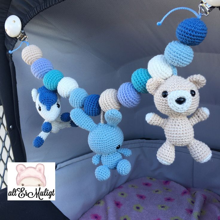 A personal favorite from my Etsy shop https://www.etsy.com/dk-en/listing/465491476/made-to-order-blue-stroller-toy