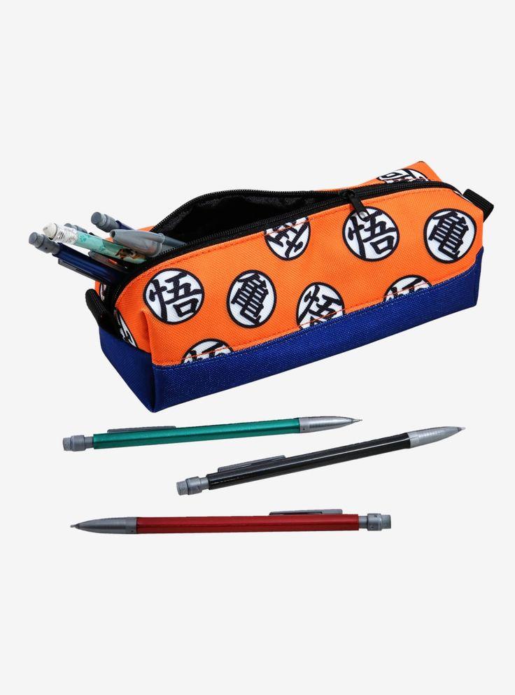 Dragon Ball Z Symbol Pencil Case – BoxLunch Exclusive