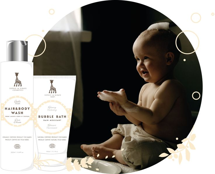 Gentle bubble bath and all over gel a´la Sophie la girafe Cosmetics. Gentle and mild for hair and skin.   But did you know no foaming or cleansing agents should contact our children eyes, th subtancse all irriate eyes, whether advertised tear-free or not. Tear-free is just a marketing term with no offical standards to fullfill. We at Sophie la girafe Cosmetic do not use it as it´s nonsense. We recommend not to contact with eyes. Always rinse with plenty of water if contact with eyes occur.