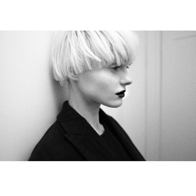 i need to go back to bowl cut. maybe blonde !! More