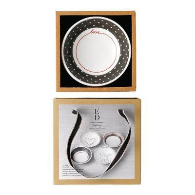 ED Crafted by Royal Doulton Signature 4 Piece Pasta Bowl Set