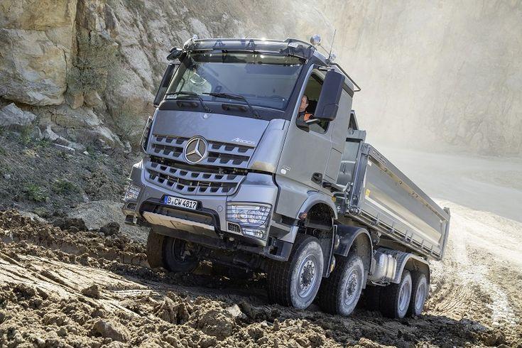 De la A (Arocs) la Z (Zetros) – alfabetul vehiculelor pentru construcţii Daimler