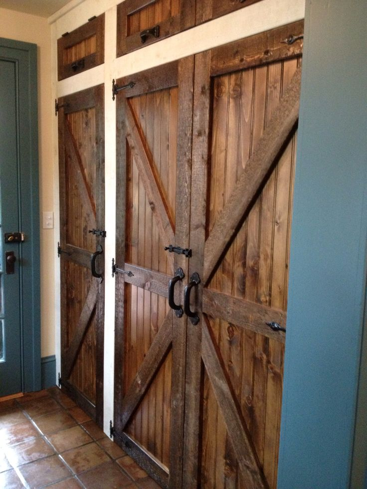 I Can T Believe How Beautiful My Mudroom Closet Doors Came Out By Alberti Woodworking Union Nj