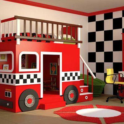 Ideas para la decoración de dormitorios infantiles (Parte I) #dormitorio #habitación #cama #deco