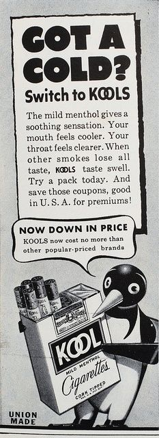 Kool Cigarettes.